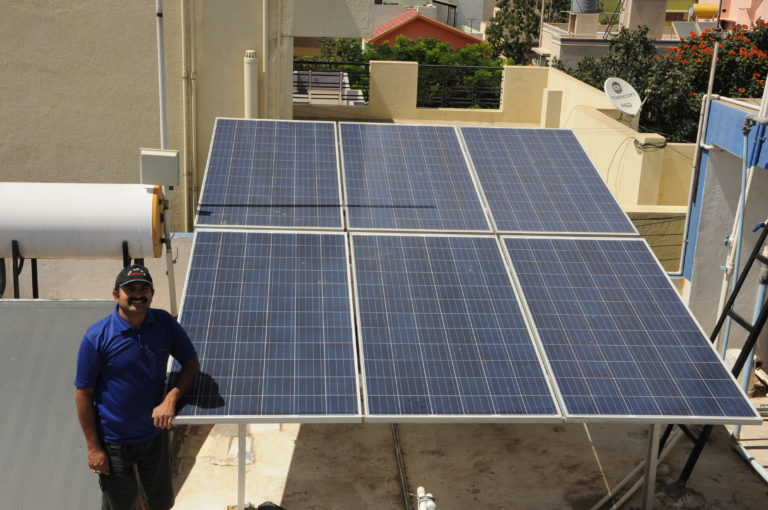 rooftop solar owner