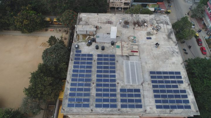 rooftop solar terrace ground